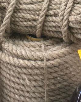 Льняные канаты и веревки