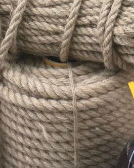 Джутовые канаты и веревки